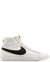 sale retailer 17855 9b4ef ... cheap nike blazer mid retro leather high top sneakers b52ee 470d3
