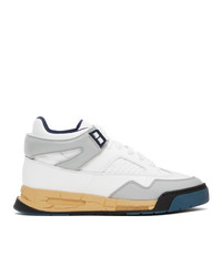 Maison Margiela Blue And White Deadstock Sneakers