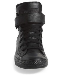 0299d28063cf ... Converse Chuck Taylor All Star Brea Leather High Top Sneaker