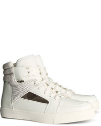 H&M High Tops White Ladies