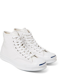 b0c63f2db725 ... Converse Jack Purcell Signature Leather High Top Sneakers ...