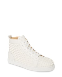 Christian Louboutin Louis Allover Spikes High Top Sneaker