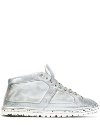 Marsèll Distressed Hi Top Sneakers