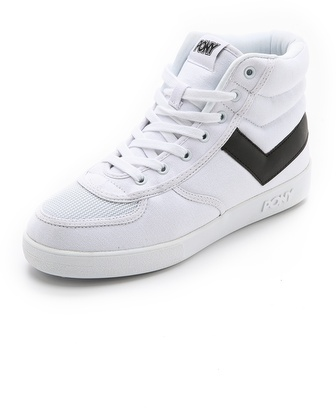 Pony Slam Dunk High Top Sneakers, $55