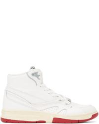 Li-Ning White 937 Deluxe Hi Sneakers