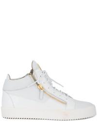 Nike Blazer Metà Sneakers In Pelle Bianca 405b3f6P8S