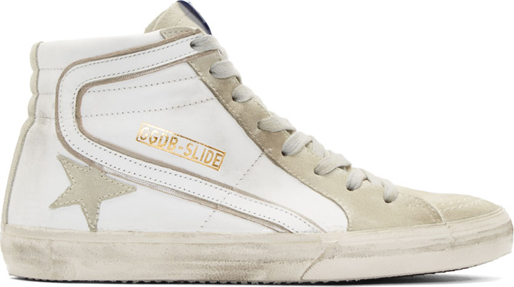 sale discounts outlet huge surprise Golden Goose Leather High-Top Sneakers free shipping low shipping fee popular online buy cheap store LBa4aBS