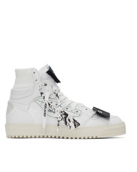 Off-White White Off Court 30 High Top Sneakers