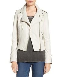 Moto Lamarque Donna Lambskin Leather Jacket