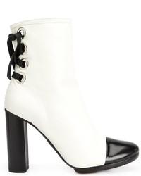 Proenza Schouler Toe Cap Ankle Boots