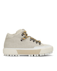 Rag and Bone Off White Rb Army Hiker Low Boots