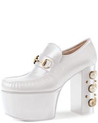 Gucci Vegas Horsebit Platform Loafer