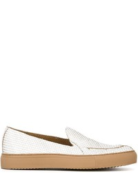 Weavebasket effect trim detail loafers medium 596767