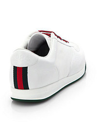 c19e0bae470 ... Gucci 1984 Leather Anniversary Sneakers