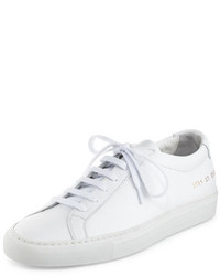 Common Projects Achilles Leather Low Top Sneaker White