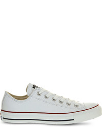 Converse All Star Low Top Leather Trainers