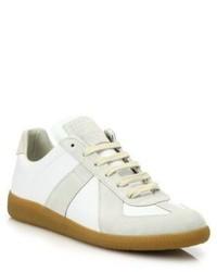 Maison Margiela Basic Leather Sneakers