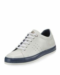 Stefano Ricci Calf Leather Low Top Sneaker