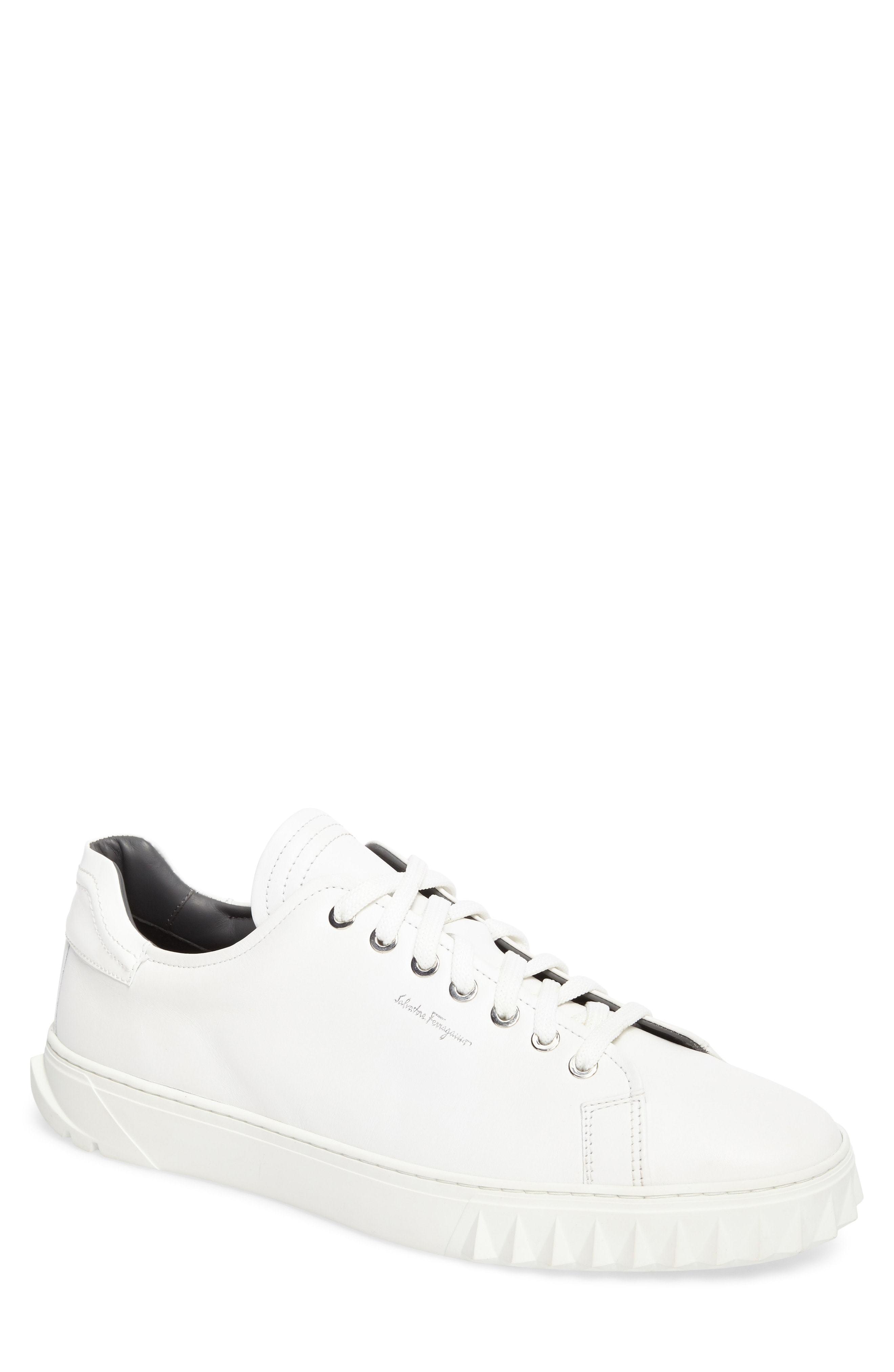 Salvatore Ferragamo Cube Sneaker, $560