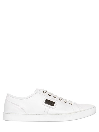 Outlet Best Sale Cheap Best Seller Leather sneakers Dolce & Gabbana Buy Cheap Finishline nVN0NjbO3F
