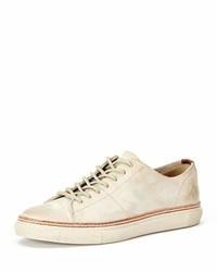 Men's White Sneakers by Frye   Lookastic