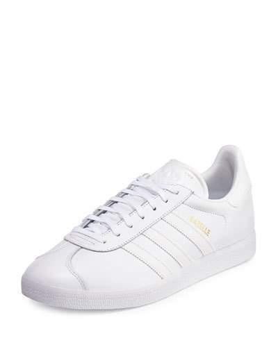Alta exposición único Pompeya  adidas Gazelle Original Leather Sneaker White, $90 | Neiman Marcus |  Lookastic