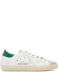 Golden Goose Deluxe Brand Golden Goose White Superstar Sneakers