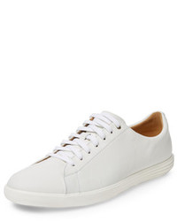 Cole Haan Grand Crosscourt Ii Leather Low Top Sneaker