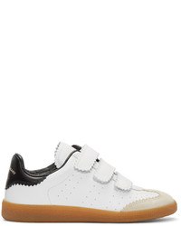 Isabel Marant White Beth Sneakers