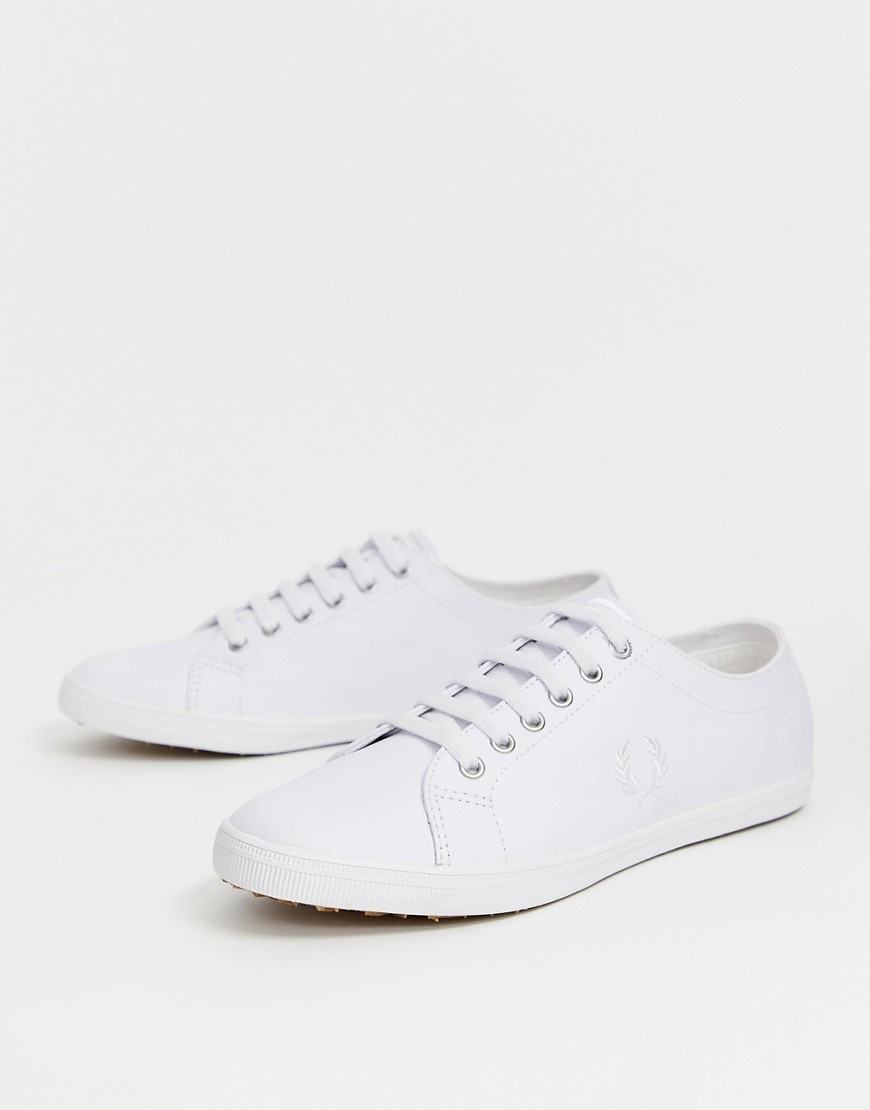 Fred Perry Kingston Leather Trainers In