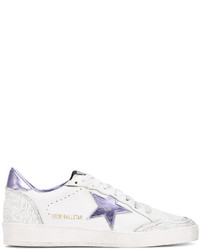 Golden Goose Deluxe Brand Leather Ball Star Low Top Trainers