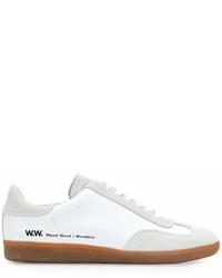 Wood Wood Low Top Lace Up Sneakers