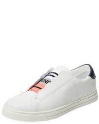 Fendi Low Top Leather Sneaker