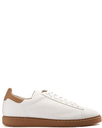 Brunello Cucinelli Low Top Leather Trainers