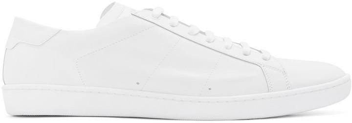 53e0ecdb9e5 Saint Laurent Off White Court Classic Sl 01 Sneakers, $495 | SSENSE ...