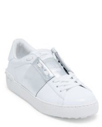Valentino Garavani Open Low Top Leather Sneakers