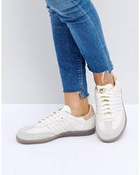 adidas Originals Samba Sneakers In Off White