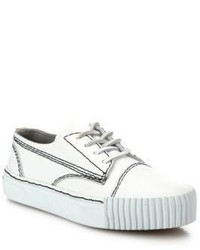 Alexander Wang Perry Leather Low Top Sneakers