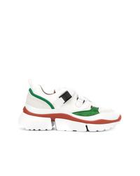Chloé Platform Cross Strap Sneakers