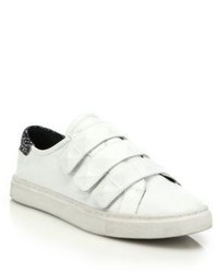 Rebecca Minkoff Becky Grip Tape Strap Leather Sneakers