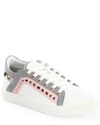 Sophia Webster Riko Leather Low Top Sneakers