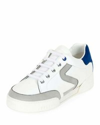 Stella McCartney S Side Lace Up Low Top Sneaker Whitegray