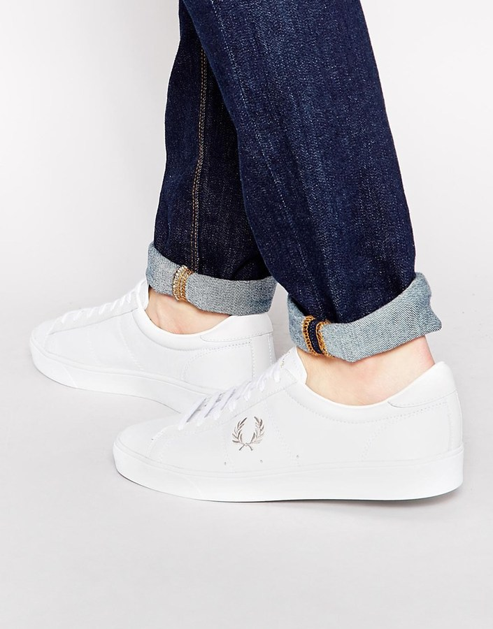 Fred Perry Spencer Leather Sneakers