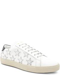 Saint Laurent Star Leather Low Top Sneakers