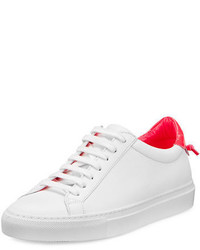 Givenchy Urban Street Leather Low Top Sneaker
