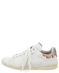 Etoile Isabel Marant Toile Isabel Marant Leather Low Top Sneakers
