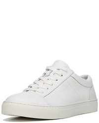 Vince Afton Leather Low Top Sneaker White