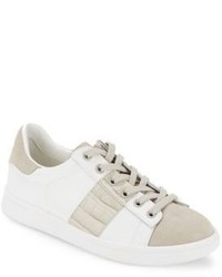 Sam Edelman Marquette Low Top Mixed Media Sneakers