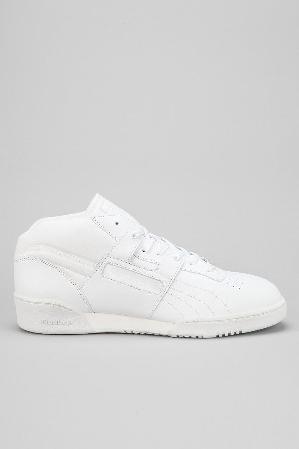 cheap for discount f3db1 fa377 ... Reebok Workout Mid Top Sneaker ...