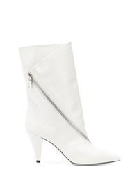 Givenchy Asymmetric Zipped Boots